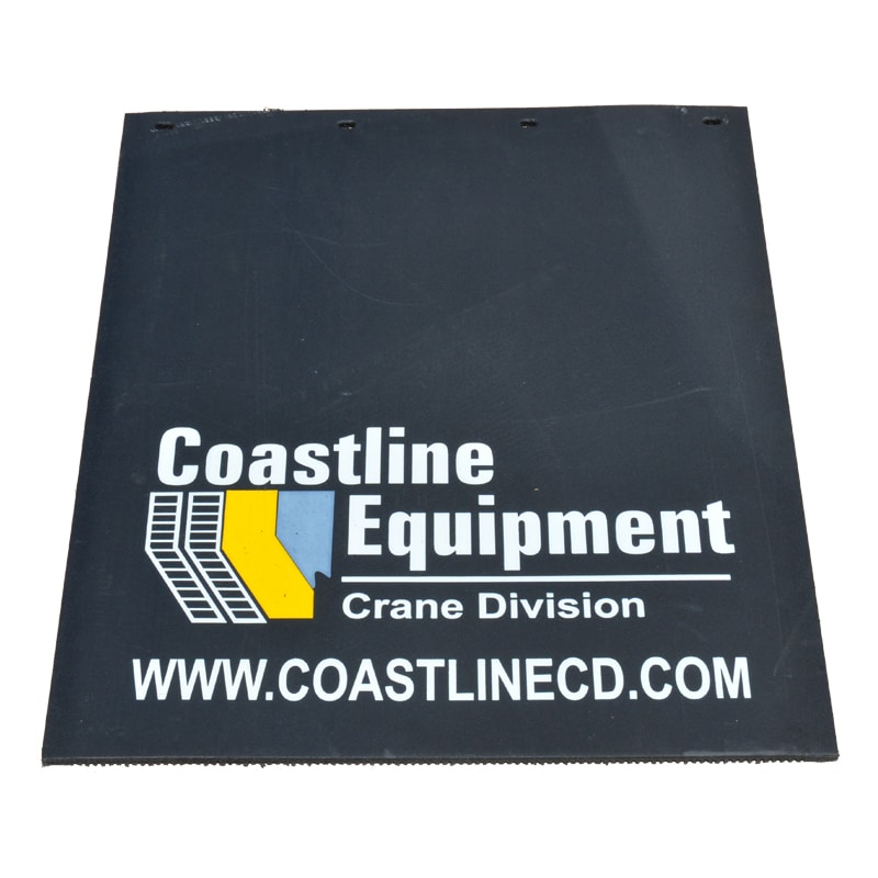 Image of Coastline Equipment Custom Mud Flaps