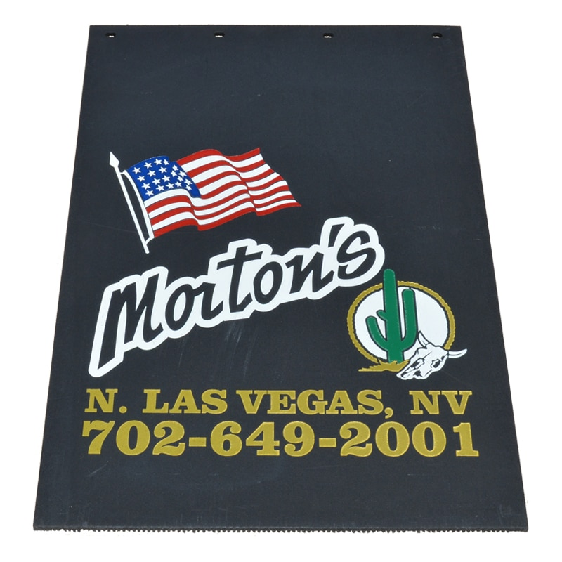 Image of Custom Mud Flaps for Morton's