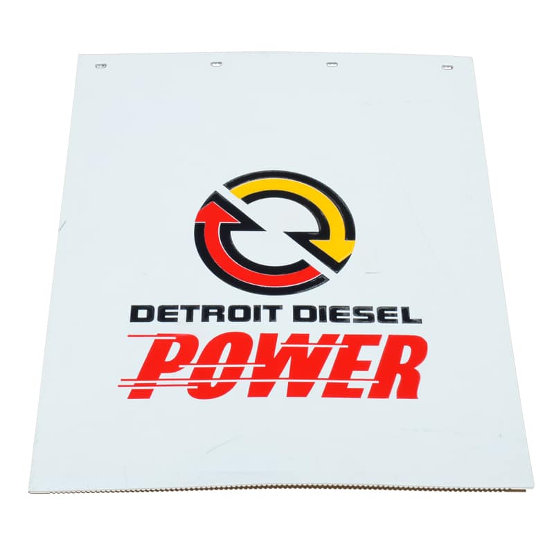 Image of Detroit Diesel Power Mud Flaps