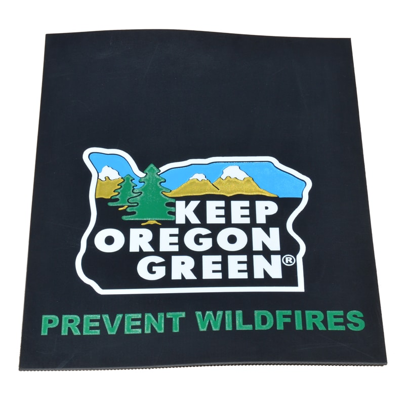 Image of Keep Oregon Green Mud Flaps