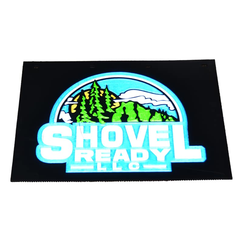 Image of Custom Mud Flaps for Shovel Ready LLC