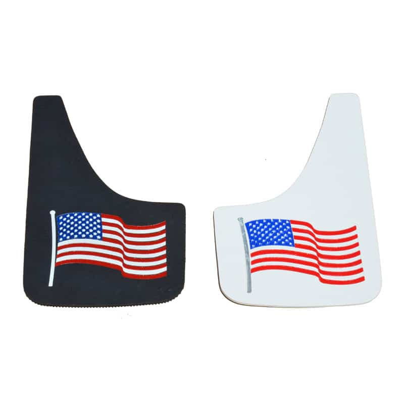 Image of American Flag Mud Flaps