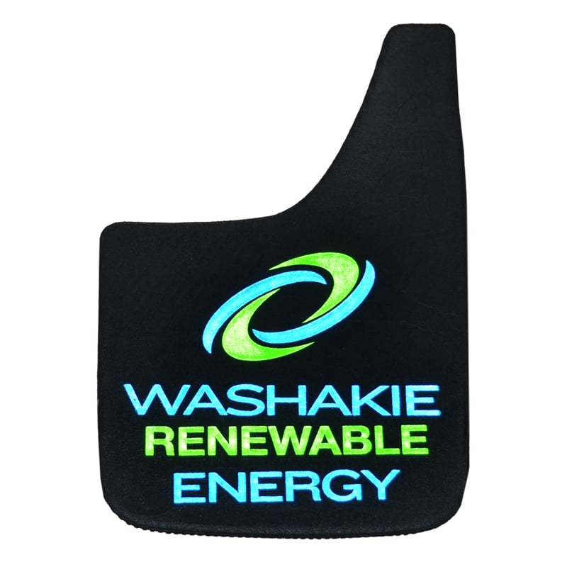 Image of Washakie Renewable Energy Reflective Mud Flaps