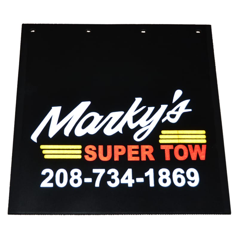 Image of Marky's Super Tow Reflective Mud Flaps