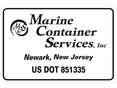 Image of Custom USDOT Decal for Commercial Trucks